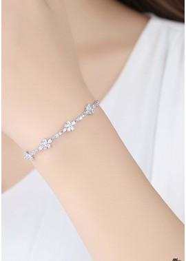 Einstellbare Diamantarmbänder T901556264110