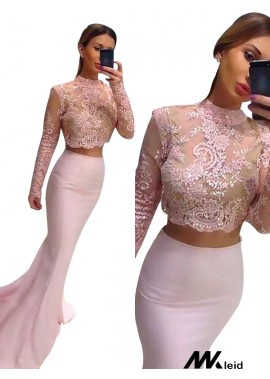 Mkleid Two Piece Long Prom Evening Dress T801524704099