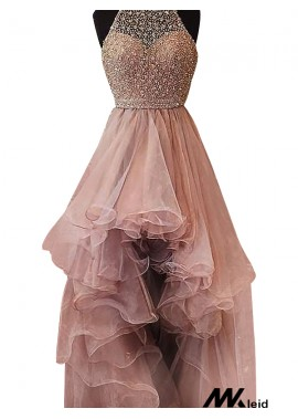 Mkleid High Low Long Prom Evening Dress T801524703853