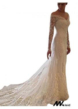Mkleid 2020 Beach Lace Wedding Dresses T801524714687