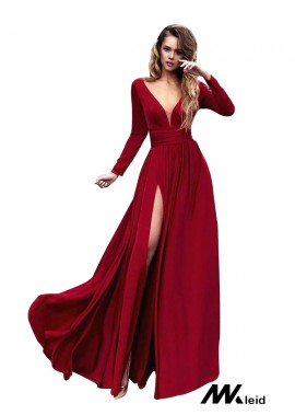 Mkleid Sexy Long Prom Evening Dress T801524703777