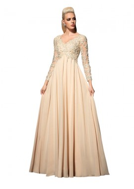 Mkleid Long Prom Evening Dress T801524709707