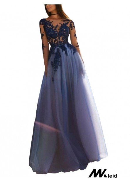 Mkleid Sparkly Long Prom Evening Dress T801524703628