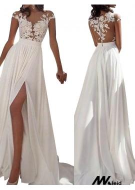 Mkleid Sexy 2020 White Summer Beach Beach Long Wedding  / Evening Dresses T801524703573