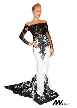 Mkleid Mermaid Long Prom Evening Dress T801524704054