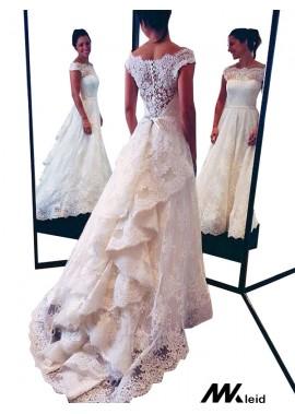 Mkleid 2020 Beach Lace Wedding Dresses T801524714681