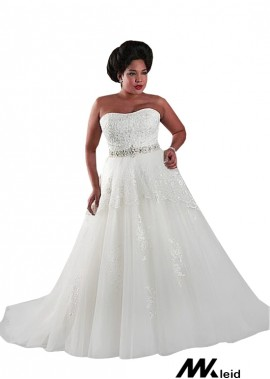 Mkleid Plus Size Wedding Dress T801525325517