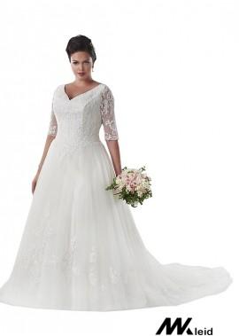 Mkleid Plus Size Wedding Dress T801525331194