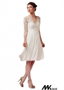 Mkleid Beach Short Wedding Dresses T801525317575