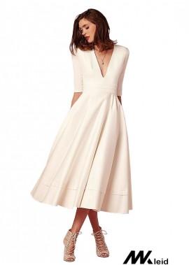 Mkleid Short Beach Wedding Dress T801525313095