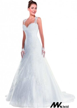 Mkleid Lace Wedding Dress T801525386964