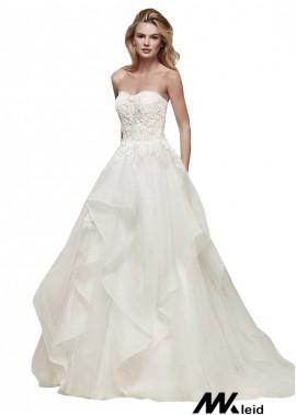 Mkleid Beach Wedding Ball Gowns T801525318190