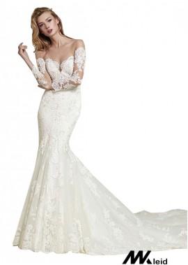 Mkleid Lace Wedding Dress T801525383810