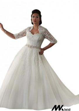Mkleid Plus Size Wedding Dress T801525325885