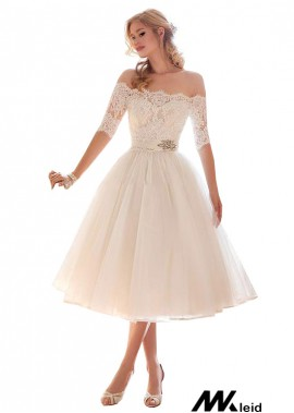 Mkleid Beach Short Wedding Dresses T801525317632